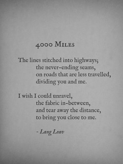 4000 MILES 