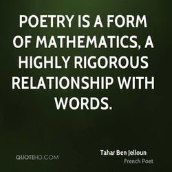 POETRY IS A FORM 