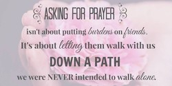 ASKING FOR PRAYER 