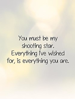 You must be my 