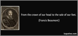 From the crown of our head to the sole of our feet. 