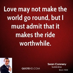 Love may not make the 