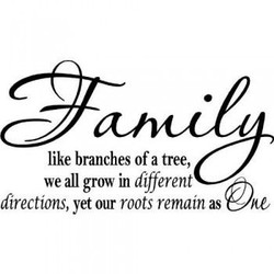 like branches of a tree, 