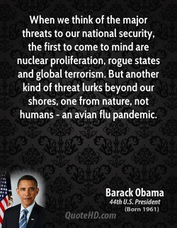 When we think of the major 