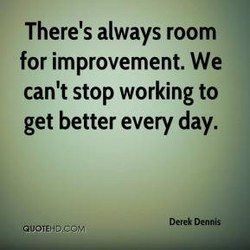 There's always room 
