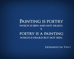 PAINTING IS POETRY 