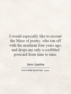 I would especially like to recourt 