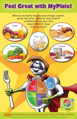 Feel Creat with MyPlate!W 
