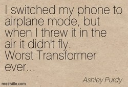 I switched my phone to 