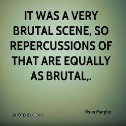 IT WAS A VERY 