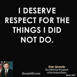 I DESERVE 