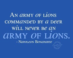 AN aRMY OF Li0NS 