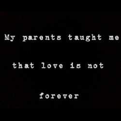 My parent B taught me 