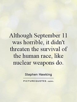 Although September I I 