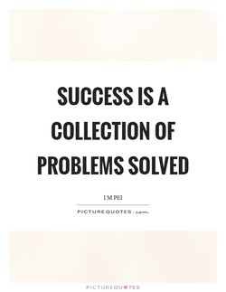 SUCCESS IS A 