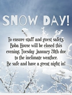 SNOW DAY! 