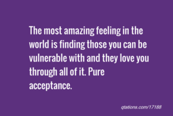 The most amazing feeling in the 