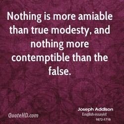 Nothing is more amiable 