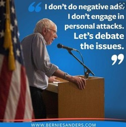 I don't do negative ad9 