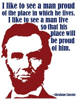1 like to see a man proud 