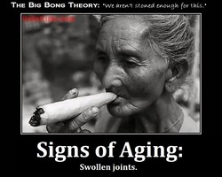 THE BIG BONG THEORY: •we stowed for 