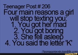 Teenager Post # 206 