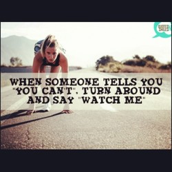 WHEN SOMEONE TELIS YOU 