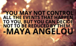 OU MAY NOT CONTROL 