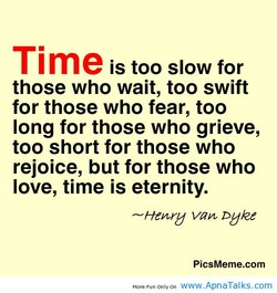 Time is too slow for 