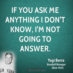 IF YOU ASK ME 