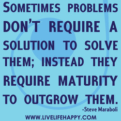 SOMETIMES PROBLEMS 