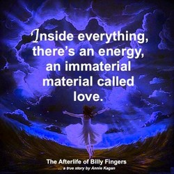 there's ah energy, 