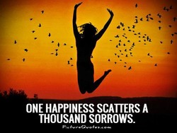 ONE HAPPINESS SCATTERS A 