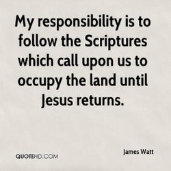 My responsibility is to 