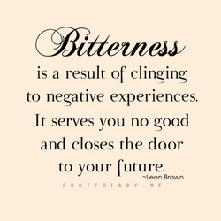 is a result of clinging 