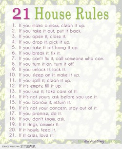 1 House Rules 