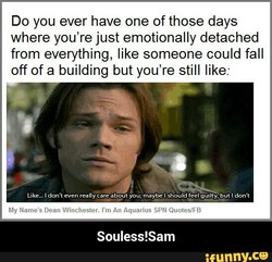 Do you ever have one of those days 