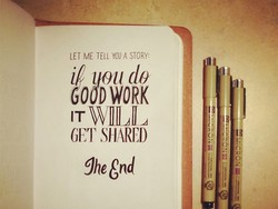 LET ME TELL A STORY: 