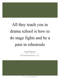 All they teach you in 