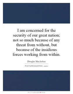 I am concerned for the 