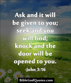 Ask and it will 