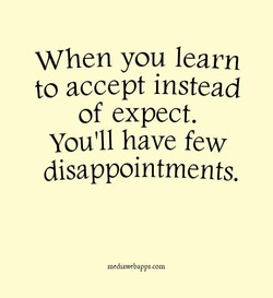 When you learn 
