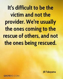 It's difficult to be the 