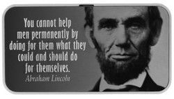 You cannot help 