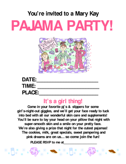 You're invited to a Mary 