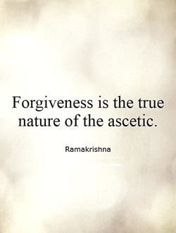 Forgiveness is the true 