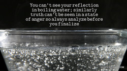 You can ' t see your reflection 