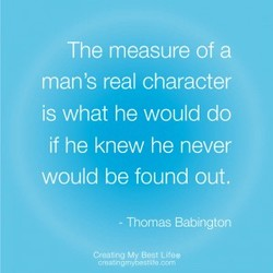 The measure of a