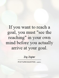 If you want to reach a 