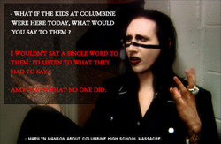 - WHAT IF THE KIDS AT COLUMBINE 